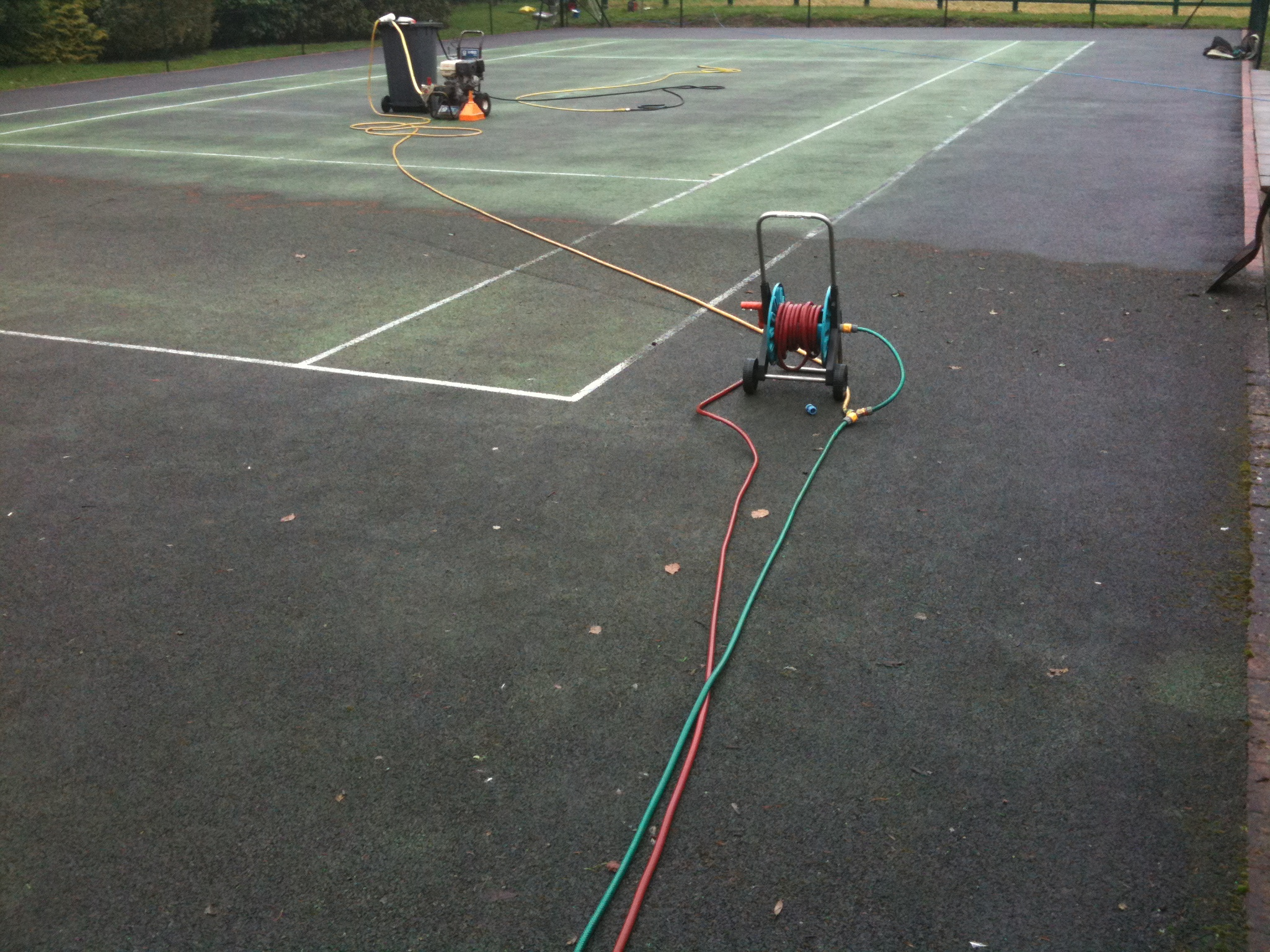 Basketball Court Cleaning Basketball Surface Cleaning