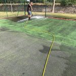 Residential Tennis Court Maintenance