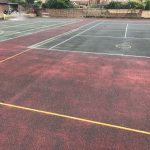 Dirty Tennis Court