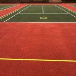 Restored Sports Court