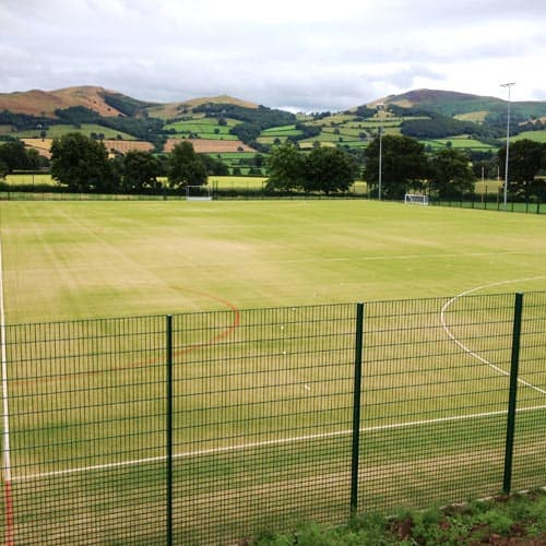 Hockey Court with Fencing