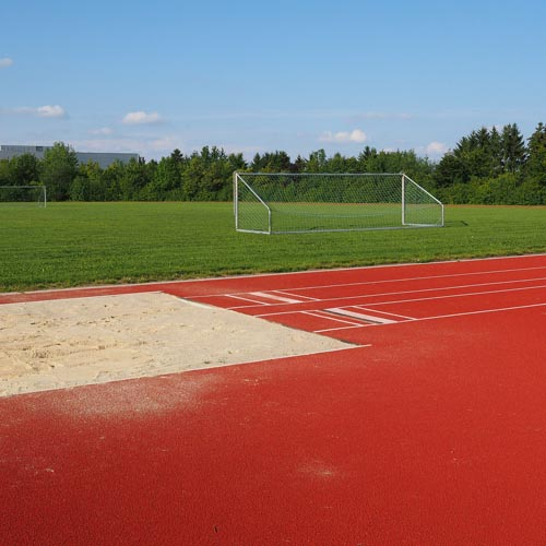 Long Jump Flooring