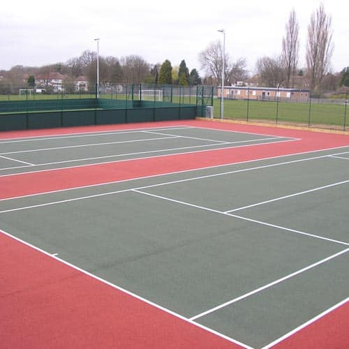 Macadam Tennis Court Surface