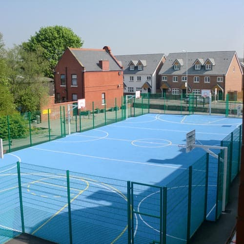 Polymeric Ball Court