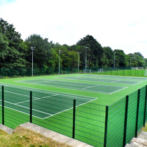 Tennis Court Surface Design