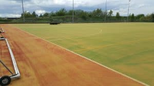2G Pitch Installation in Morpeth, Northumberland