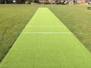 Synthetic Cricket Wicket in Scunthorpe, Lincolnshire